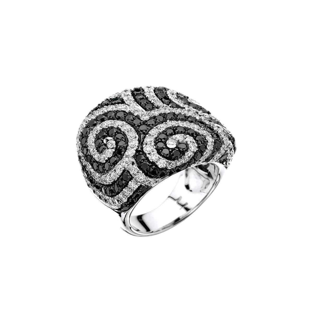 MyriamSOS Twisted Eternity Ring - UK K 1/2 - US 5 3/8 - EU 50 3/4 KPBOT21Xl