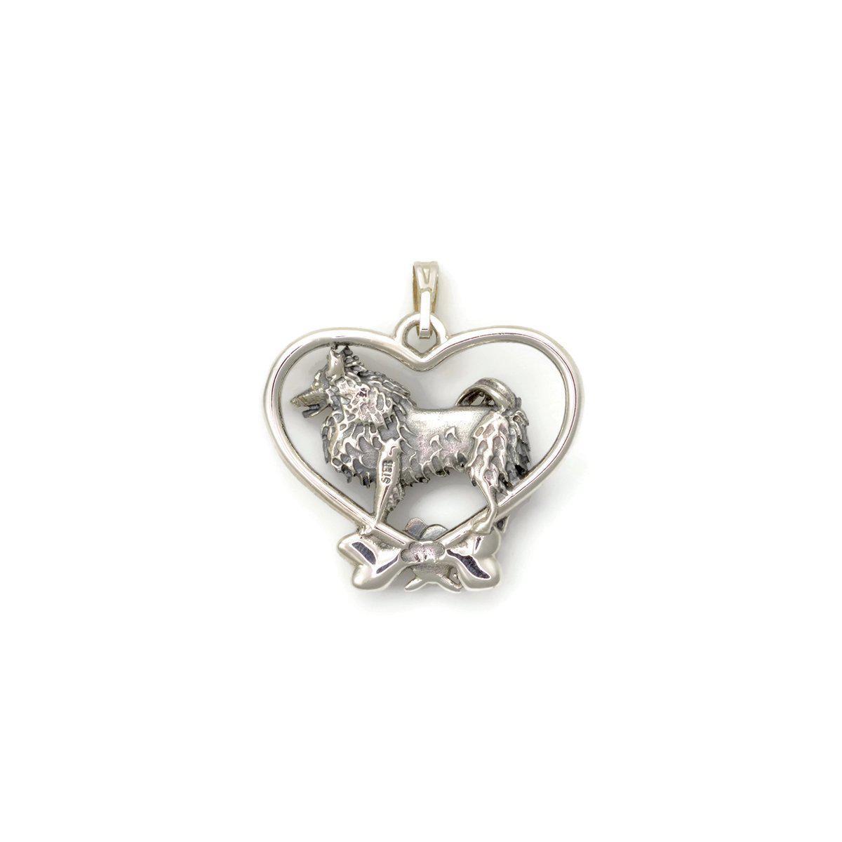Donna Pizarro Designs Sterling Silver American Eskimo Necklace vHXtb