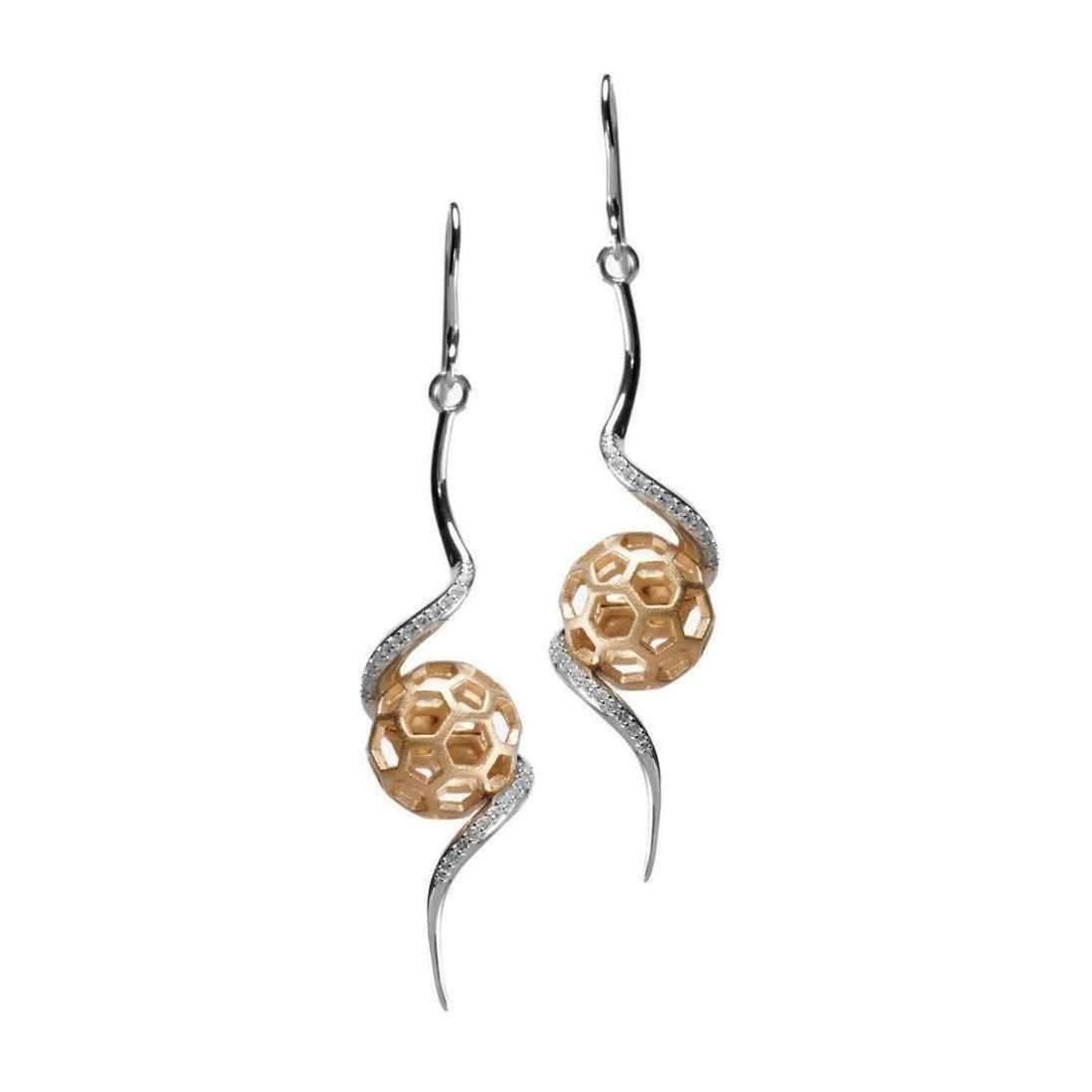 Gia Belloni Gold Polished Aeon Earrings gIH3Tg