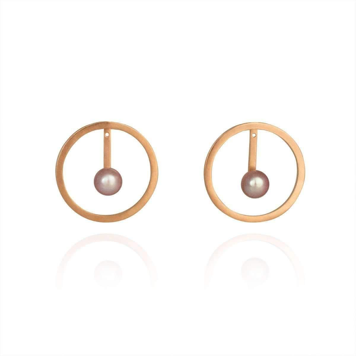 Cara Tonkin Silver Orbit Halo Front And Back Earrings 2aSdQjfBX