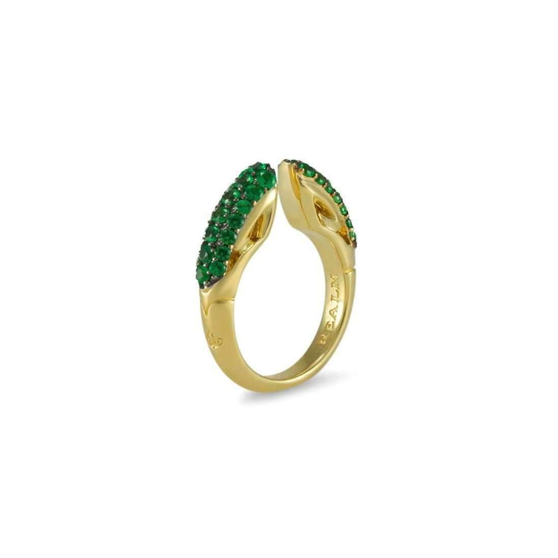 Realm Sceptre Pave Ring 5.0 - UK M - US 6 - EU 52 3/4 RyIODYNdk