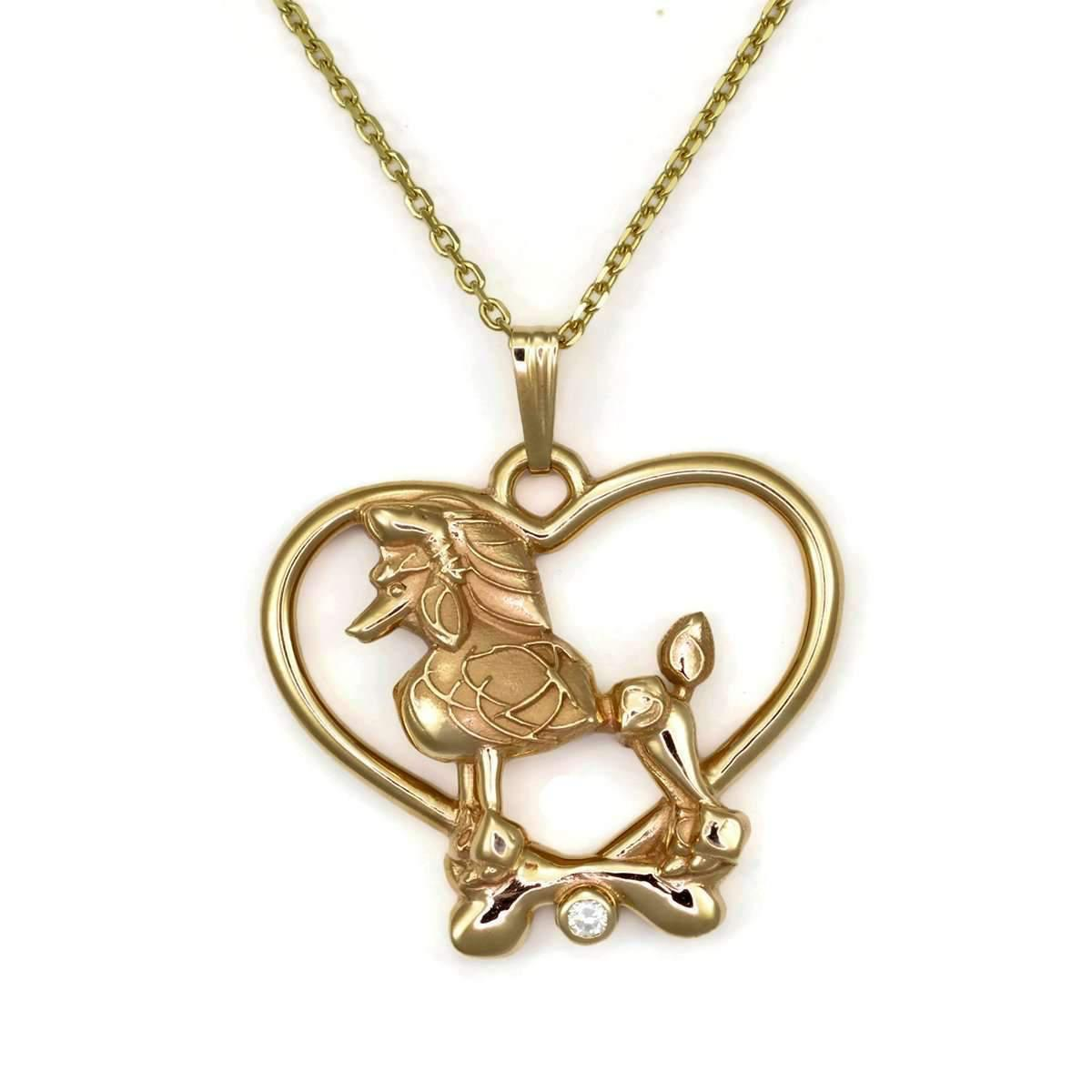 Donna Pizarro Designs 14kt Yellow Gold Yellow Diamond Heart Shaped Necklace 5hjGdjFJC