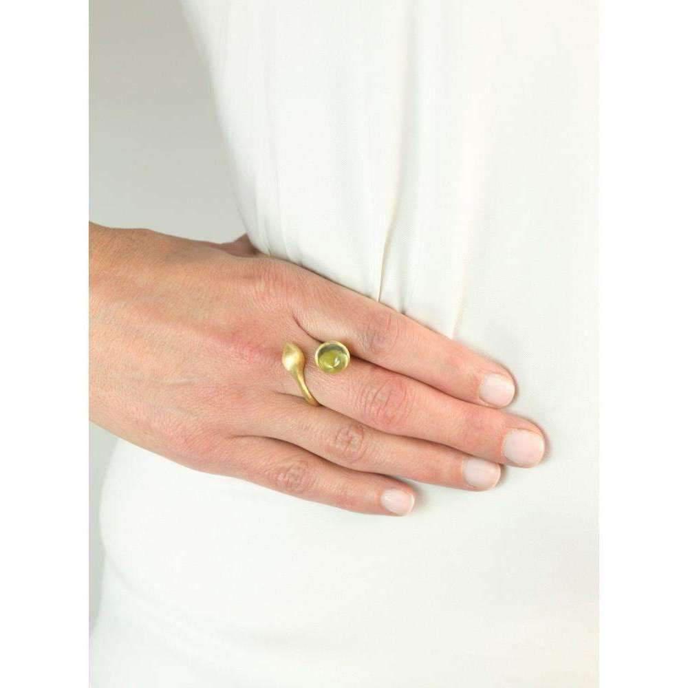 Militza Ortiz H20 Mint Quartz Ring MFCRgpfK17