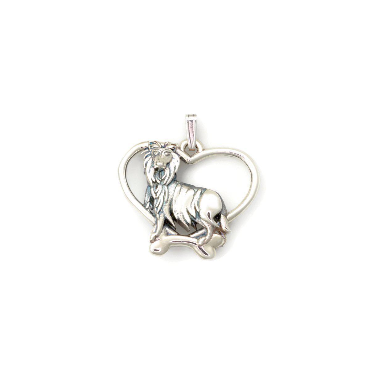 Donna Pizarro Designs Sterling Silver Sheltie Necklace sNlWo96p