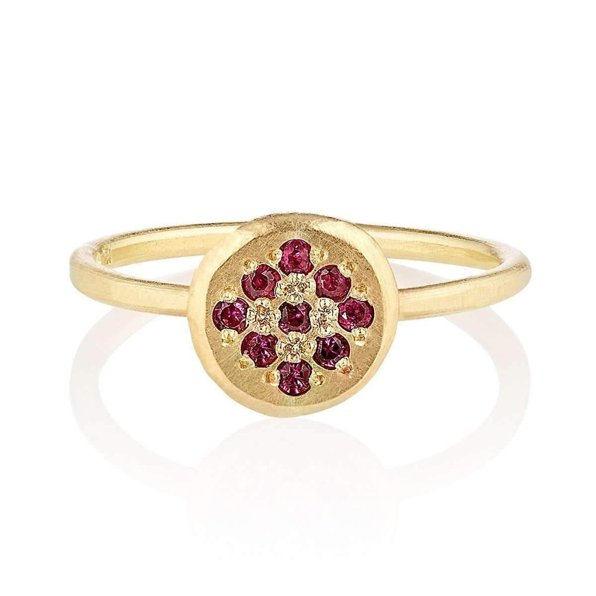 Shakti Ellenwood 18kt Fairtrade Cherish Ruby Ring - UK N - US 6 1/2 - EU 54 cc2E9ivYEm