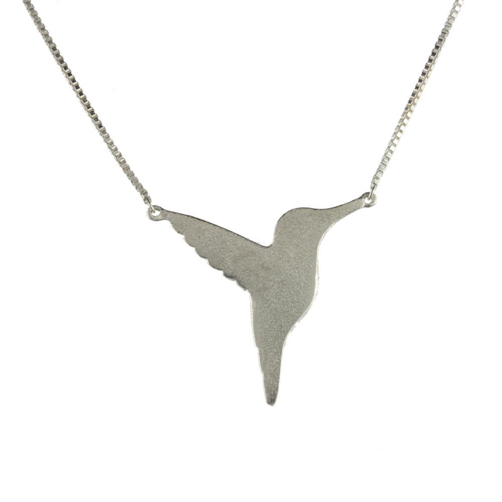 Jana Reinhardt Sterling Silver Twin Hummingbird Necklaces JCkhj