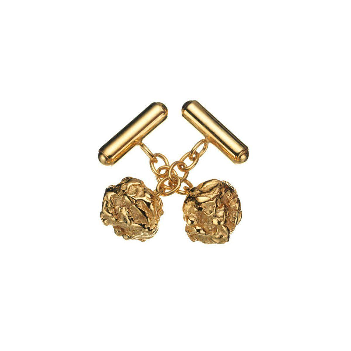 Deborah Blyth Jewellery Zander Sterling Silver Nugget Cufflinks FrmbXQMQDu