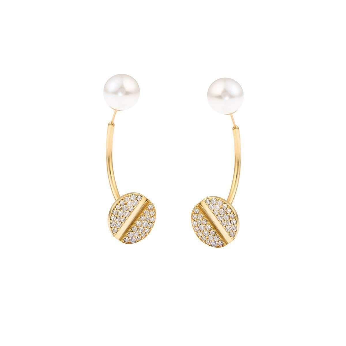 Joanna Laura Constantine Nail Ear-Jacket Earrings qD0CGo