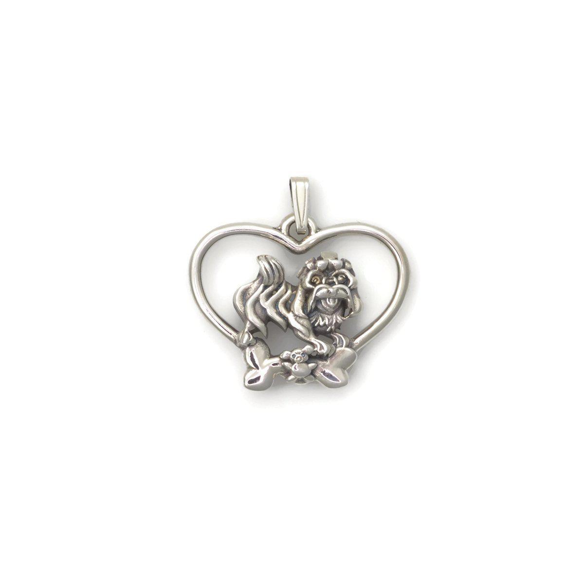 Donna Pizarro Designs Sterling Silver Whippet Necklace zDnEpJzrH