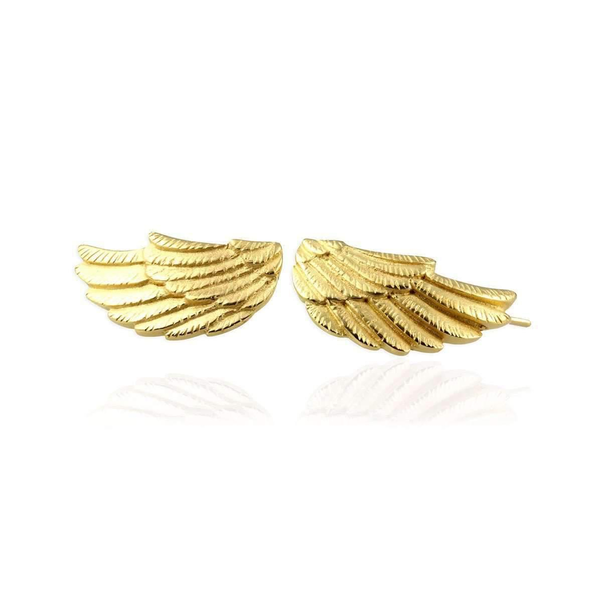 Jana Reinhardt Golden Wing Ear Studs