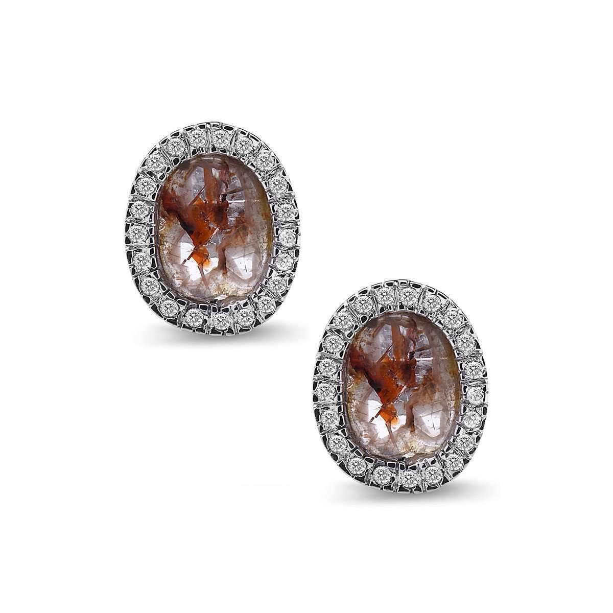 Socheec Drop Diamond Stud Earrings YNUF3XcjpB
