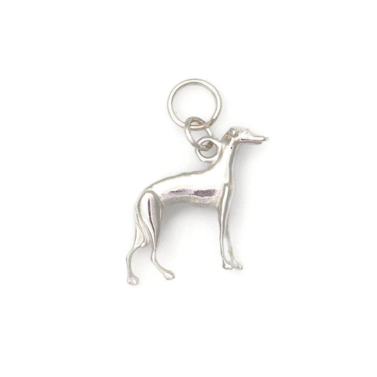 Donna Pizarro Designs 14kt White Gold Italian Greyhound Charm 4clG3Bm8nz