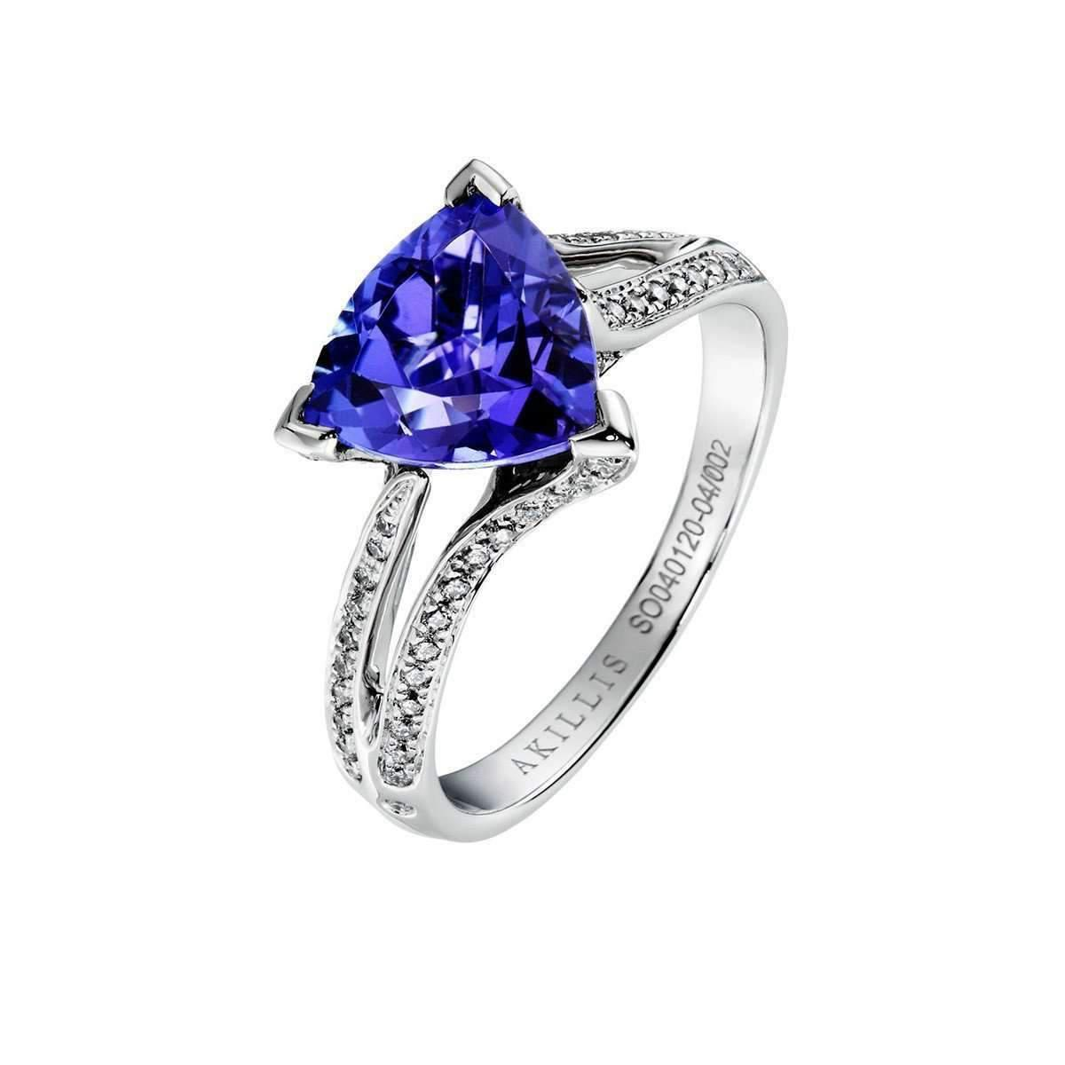 Akillis Python White Gold Diamond Tatou Ring - UK L 1/4 - US 5 3/4 - EU 52 zQCzcTvAM