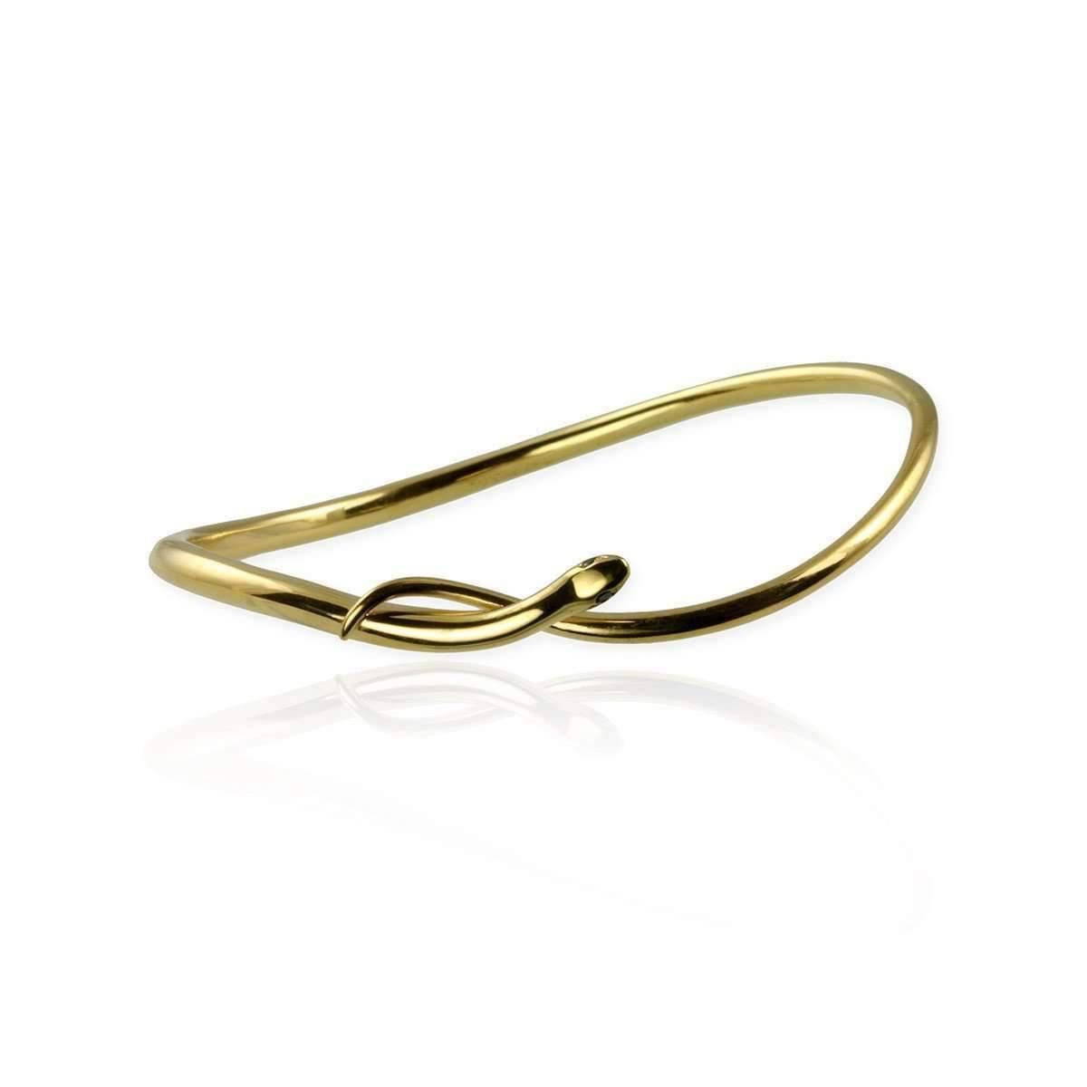 Jana Reinhardt Gold Plated Silver Snake Bangle 9rLfvjX