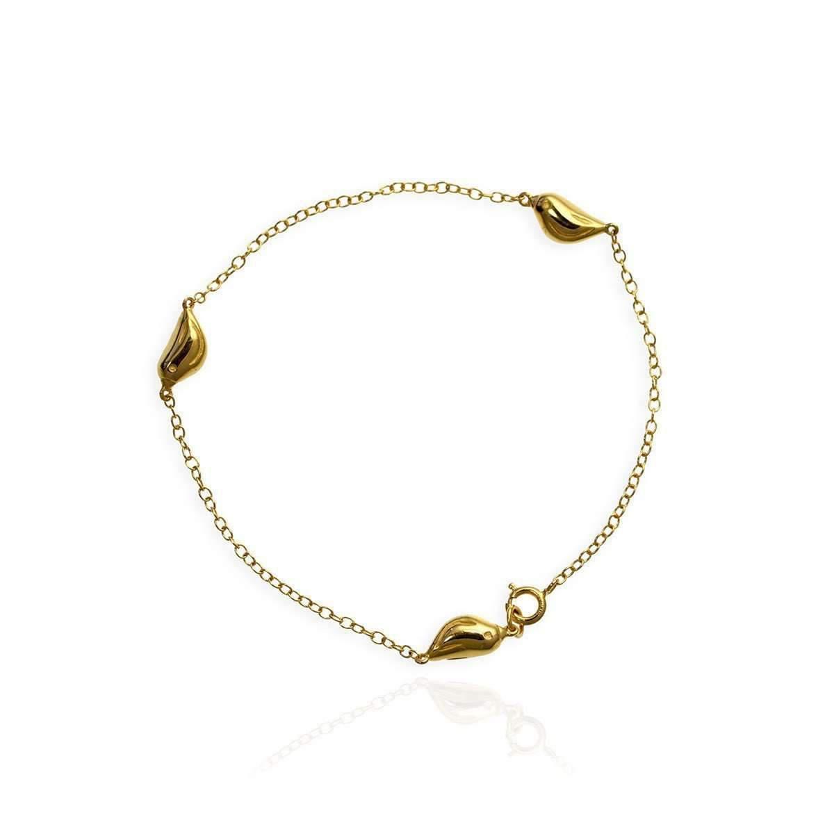 Jana Reinhardt Gold Plated Silver Tiny Sparrow Bracelet eGjKUI