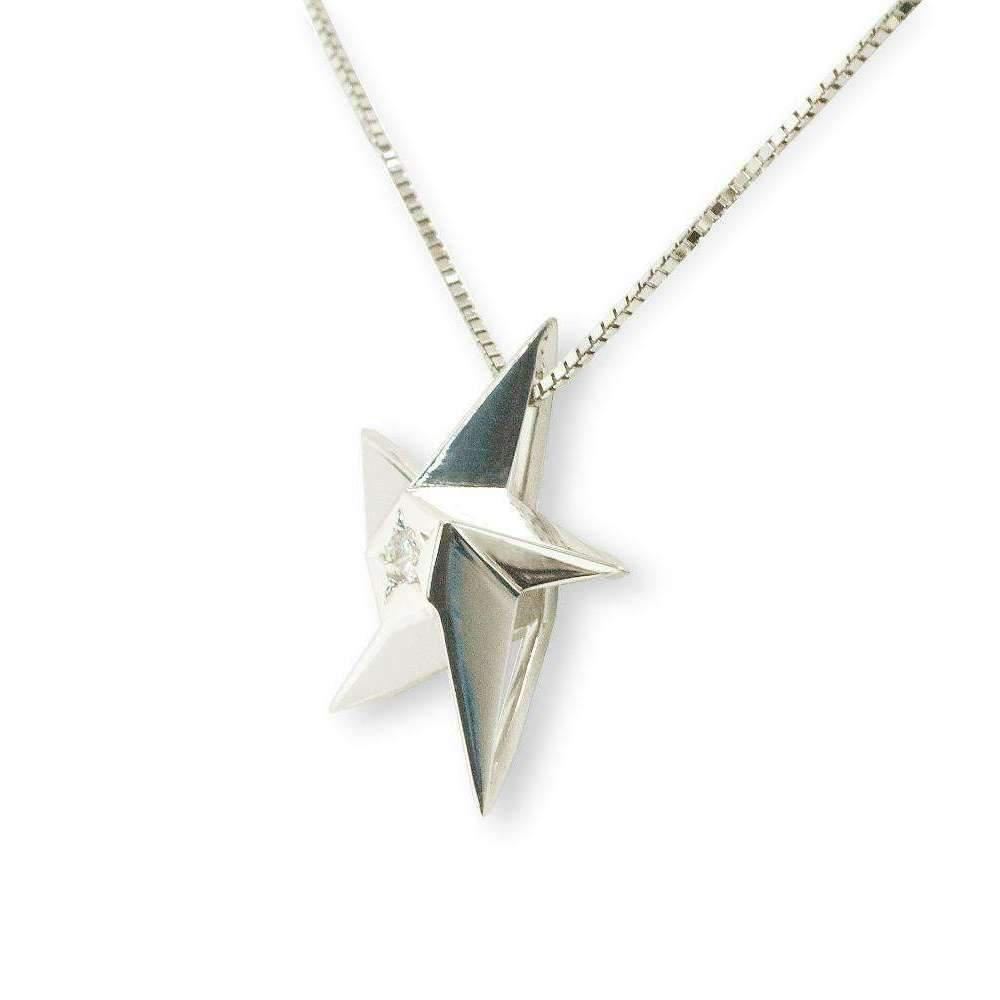 Daou Jewellery Star Blush Pink Sapphire Pendant - 16 GofM9
