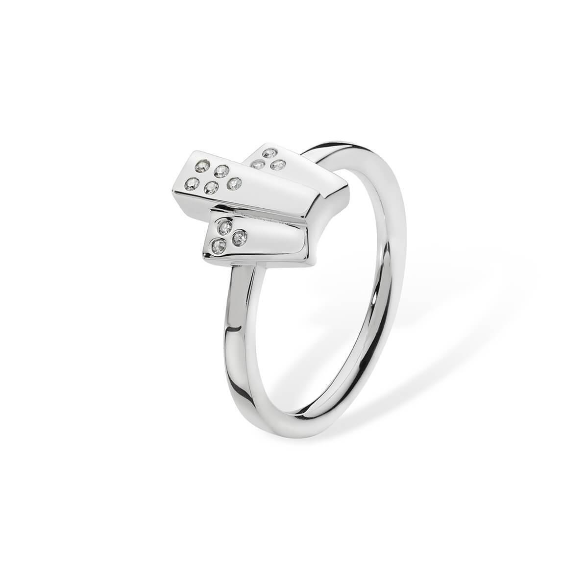 Lucy Quartermaine 2 Ring Drop Silver - UK T - US 9 5/8 - EU 61 1/2 fFLyLhkCK