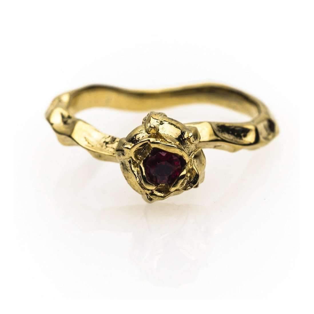 Shakti Ellenwood Trinity 18kt Fairtrade Gold and Diamond Rings - UK U - US 10 1/4 - EU 62 3/4 - White ZBjDn8