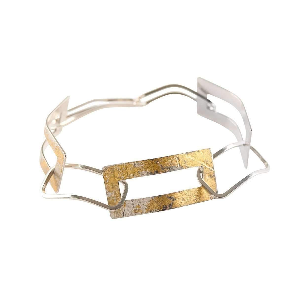 Lyst - Genna Design Frame Bracelet in Metallic