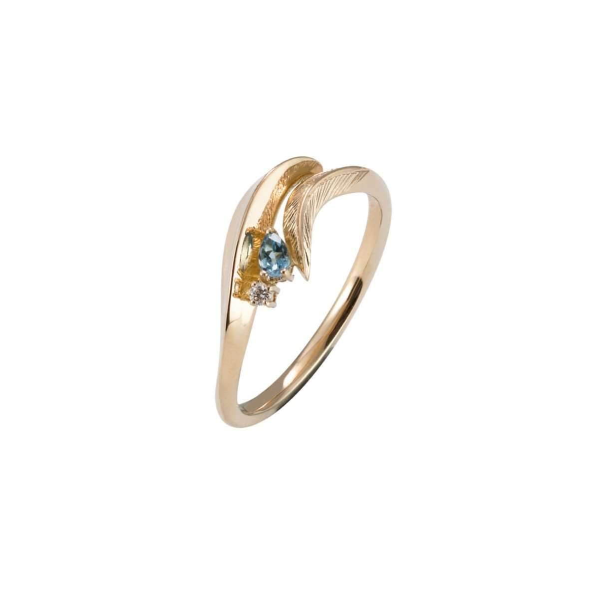 Daou Jewellery 18kt Gold & Gemstone Golden Light Earrings Yz2FvjjwJ