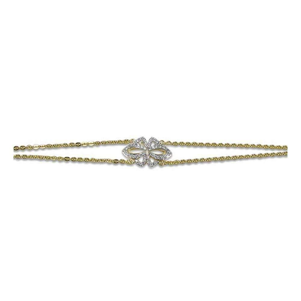 Realm Domain Vanity Pave Chain Bracelet y5wF0DarHA