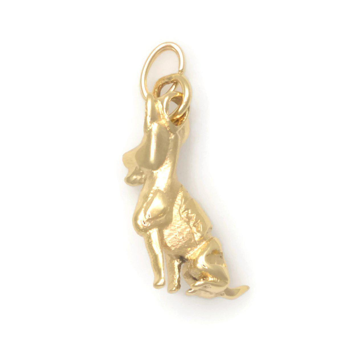 Donna Pizarro Designs 14kt Yellow Gold Jack Russell Terrier Charm rfL5bpY