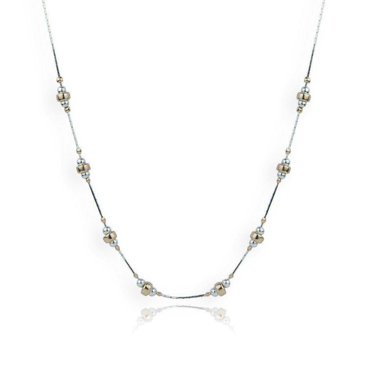 Lavan Gold & Sterling Silver Pebble Necklace - 16 Inches 6WqThbP