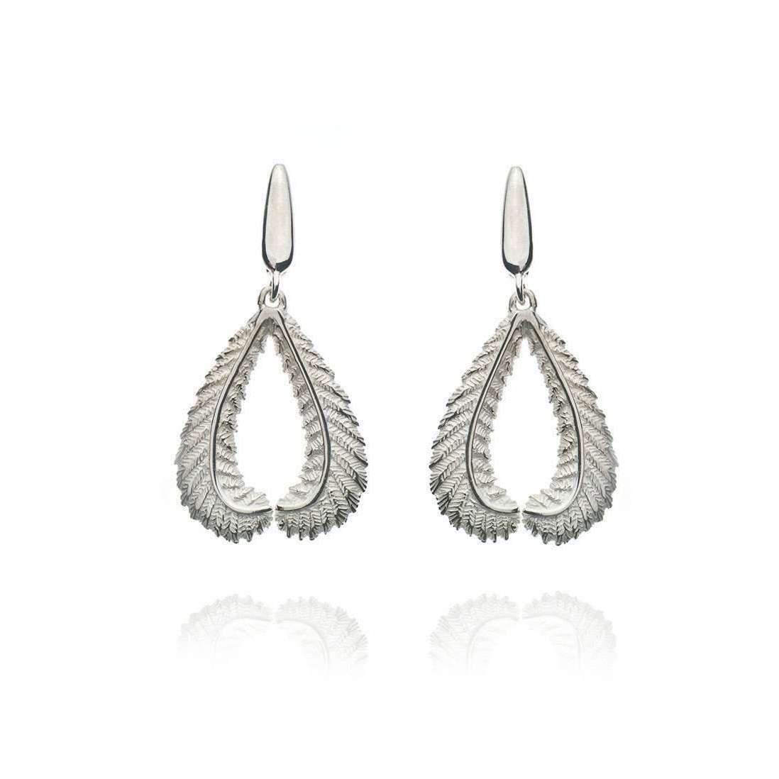 Patience Jewellery Fern Stud Earrings wdub43fYLb