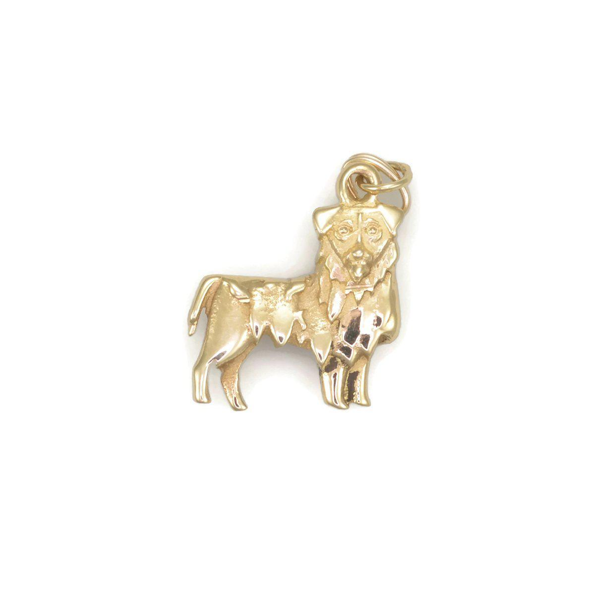 Donna Pizarro Designs 14kt Yellow Gold Golden Retriever Charm 1yLh3lZRyX