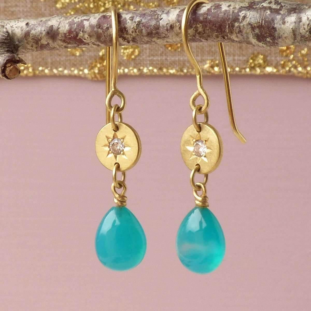 Shakti Ellenwood 18kt Eloise Earrings TNLq0BV