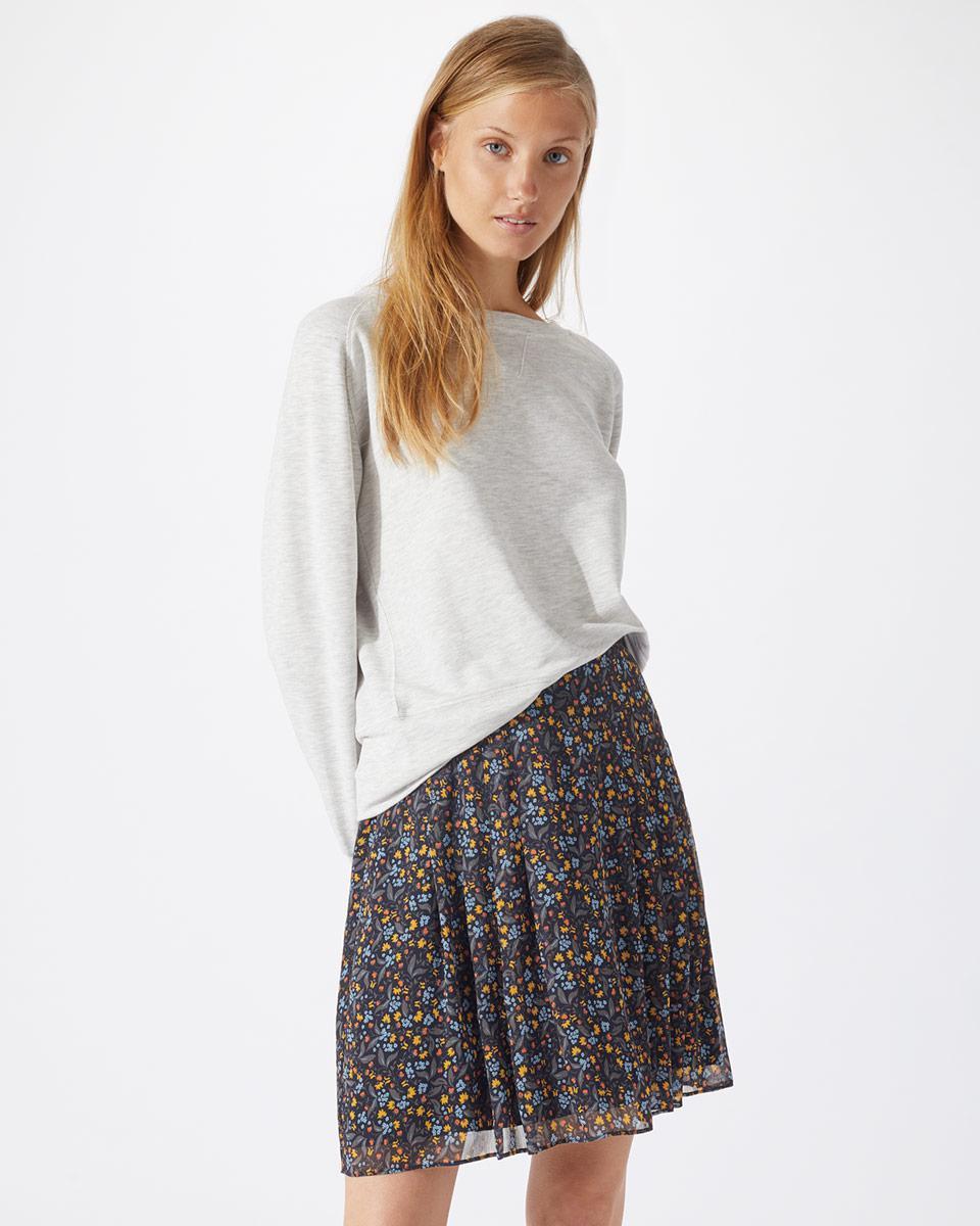 740e717be2 Jigsaw Florette Flippy Skirt in Blue - Lyst