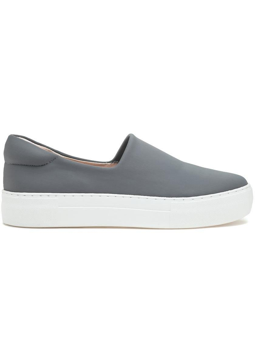 17a9584dc4c9 J Slides Ariana Slip On Sneaker Grey Fabric in Gray - Lyst