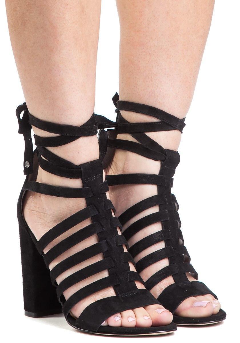 256a5e53e32a Sam Edelman. Women s Yarina Black Suede Lace Up Sandal.  206  103 From Jildor  Shoes