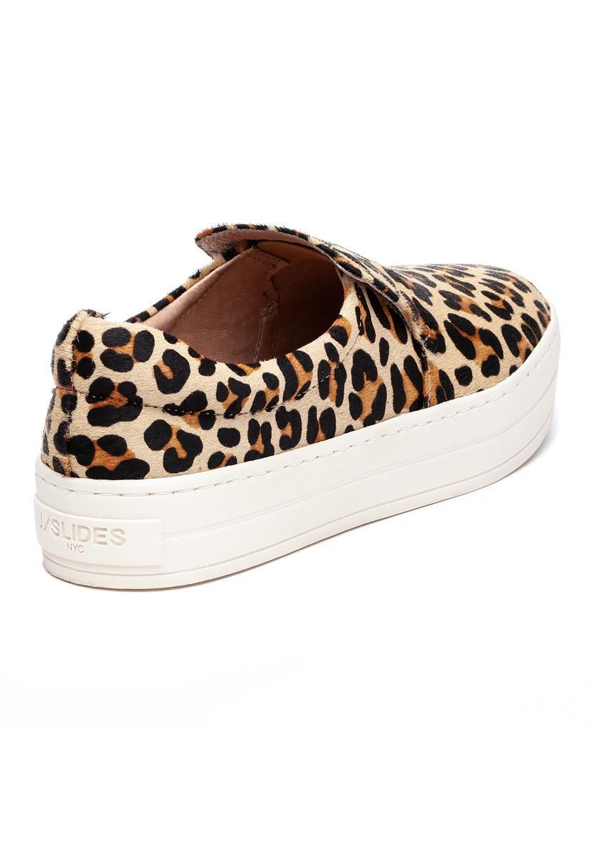 bb11c9d00b6a J Slides - Multicolor Harry Sneaker Leopard Pony Hair - Lyst. View  fullscreen