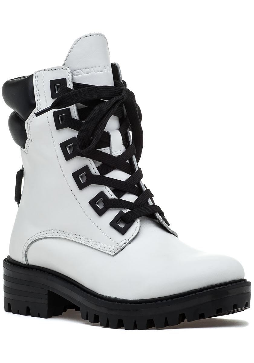 KENDALL + KYLIE Kendall+Kylie East shiny leather combat boots women's Mid Boots in Top Quality Cheap Price Discount Ebay Cheap Sale Nicekicks Latest Collections Online Best Seller Online aUua6pR