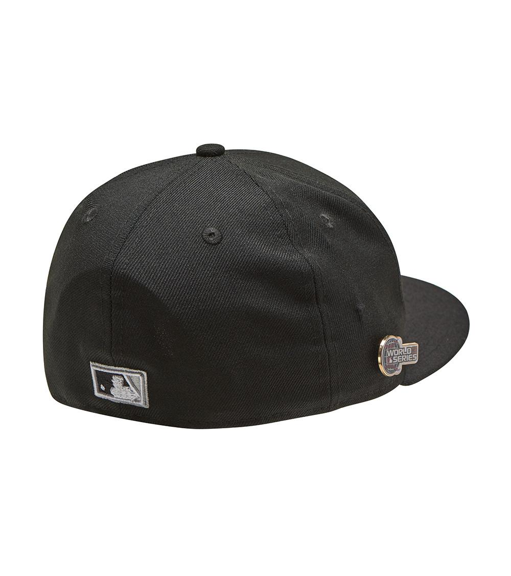 Lyst - Ktz White Sox World Series Pin 59fifty Hat in Black for Men e1f0ecf9bba