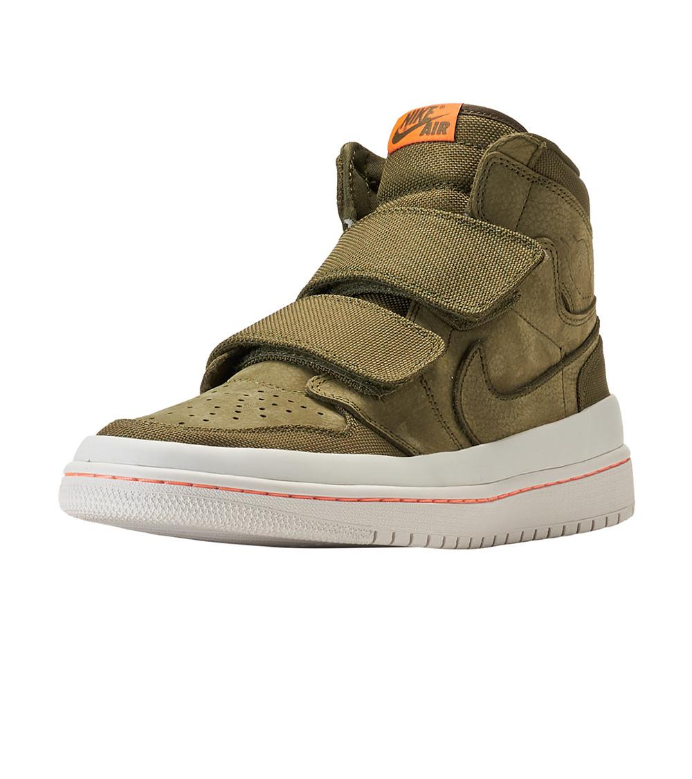 save off abf89 42802 Nike - Green Retro 1 High Double Strap for Men - Lyst. View fullscreen