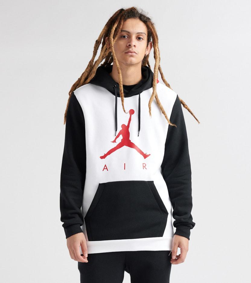 a3045568e2 Lyst - Nike Jumpman Air Gfx Pullover Hoodie in White for Men