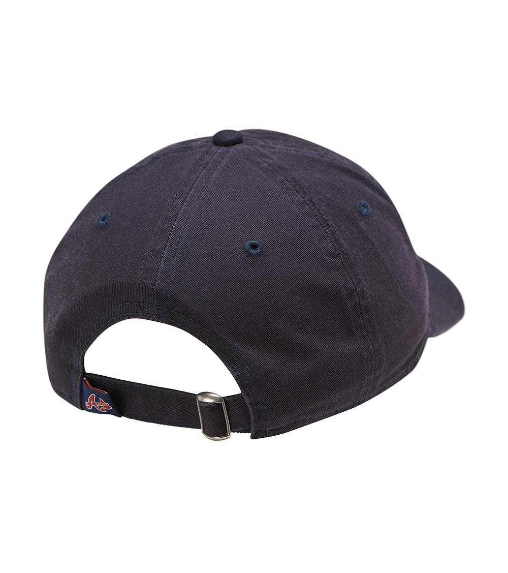 Ktz Atlanta Braves 9twenty Dad Hat in Blue for Men - Lyst 01aeb9136ee