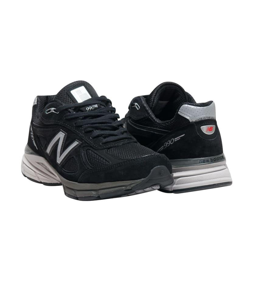 huge selection of 2a94a 6126d New Balance 990 Running Sneaker in Black for Men - Lyst