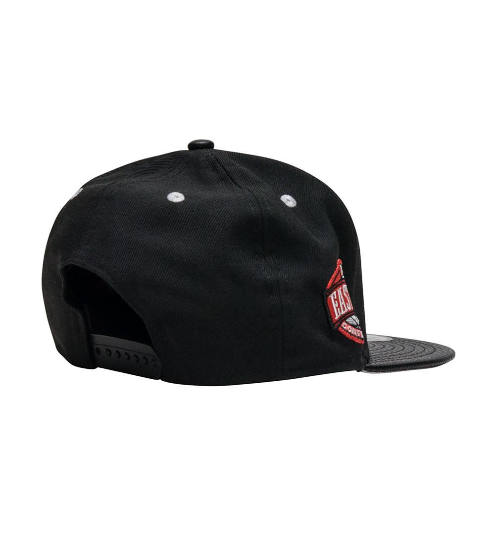 8840237d961 KTZ - Black Chicago Bulls Snapback Cap for Men - Lyst. View fullscreen