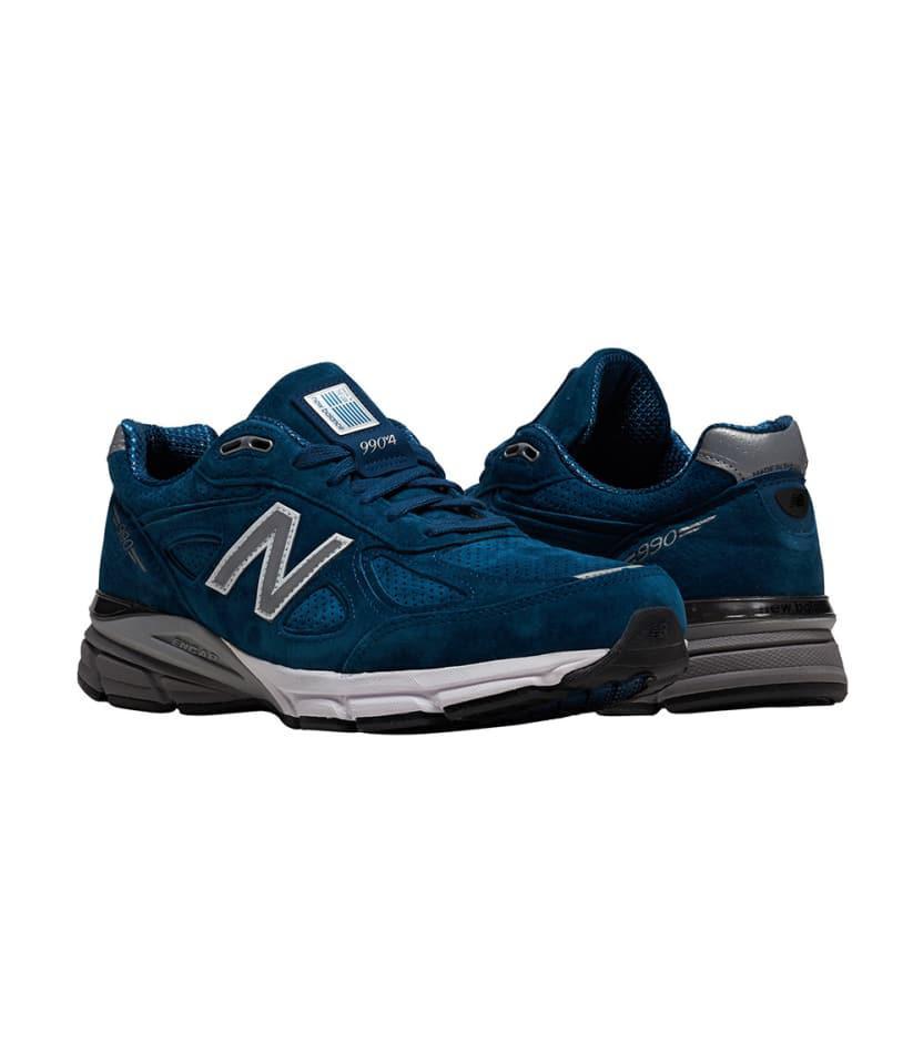 brand new cd907 82e5d Lyst - New Balance 990 Running Sneaker in Blue for Men