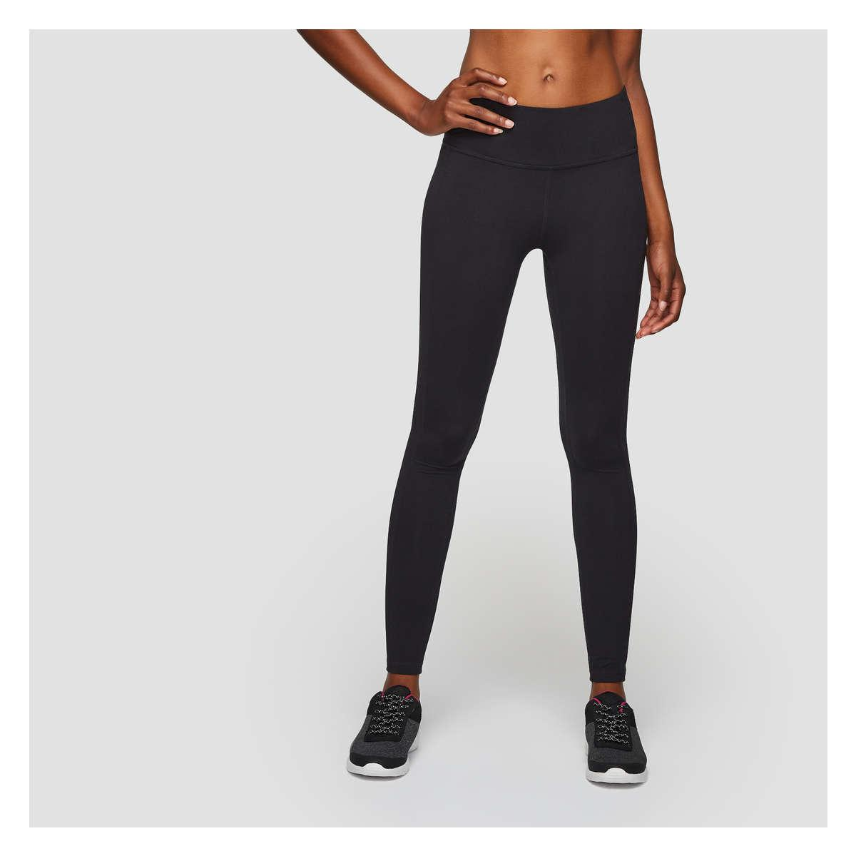 ea9f25d23df07 Joe Fresh Essential Active Legging in Black - Lyst