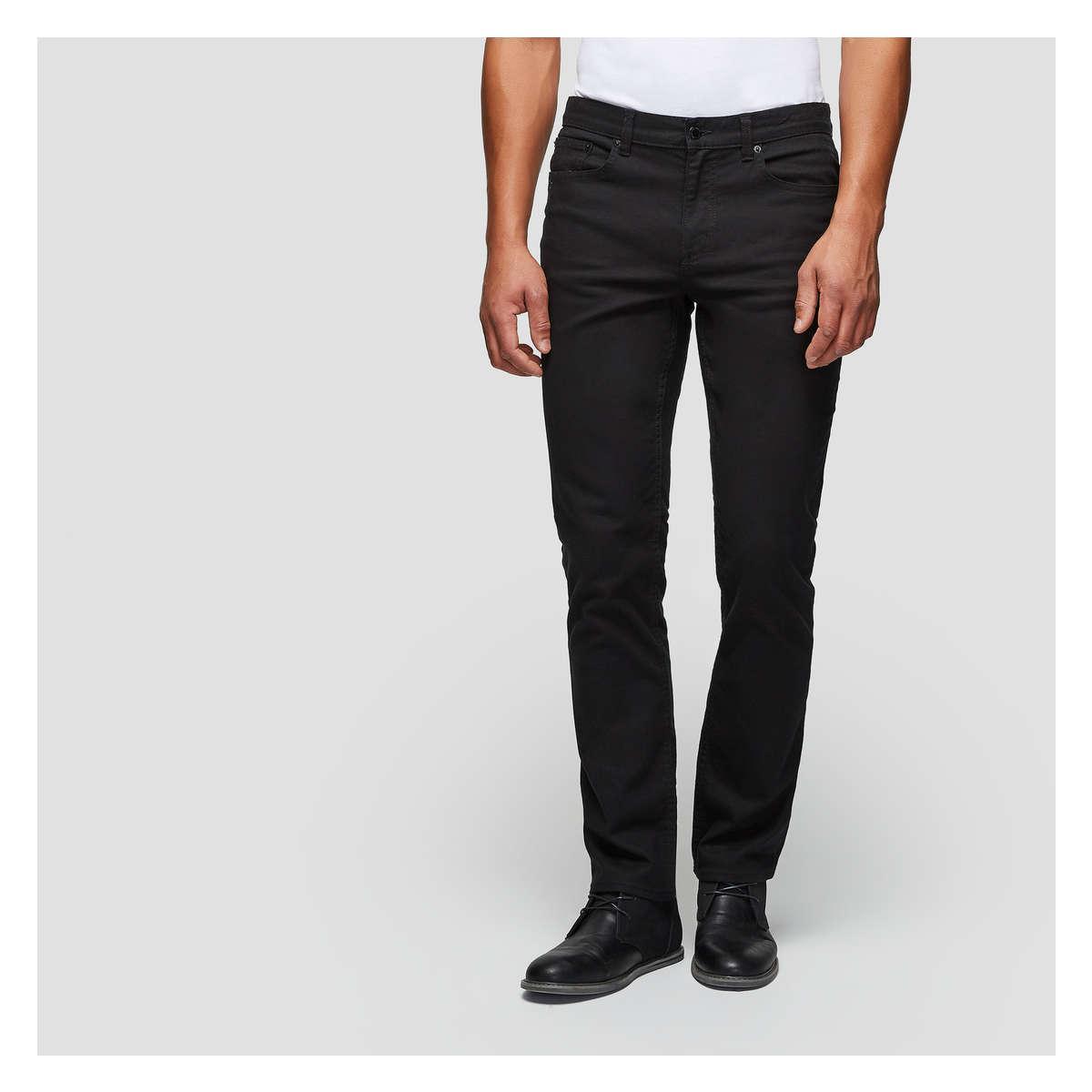 f794b61c43 Lyst - Joe Fresh Men s Slim Straight Chino in Black for Men - Save 15%