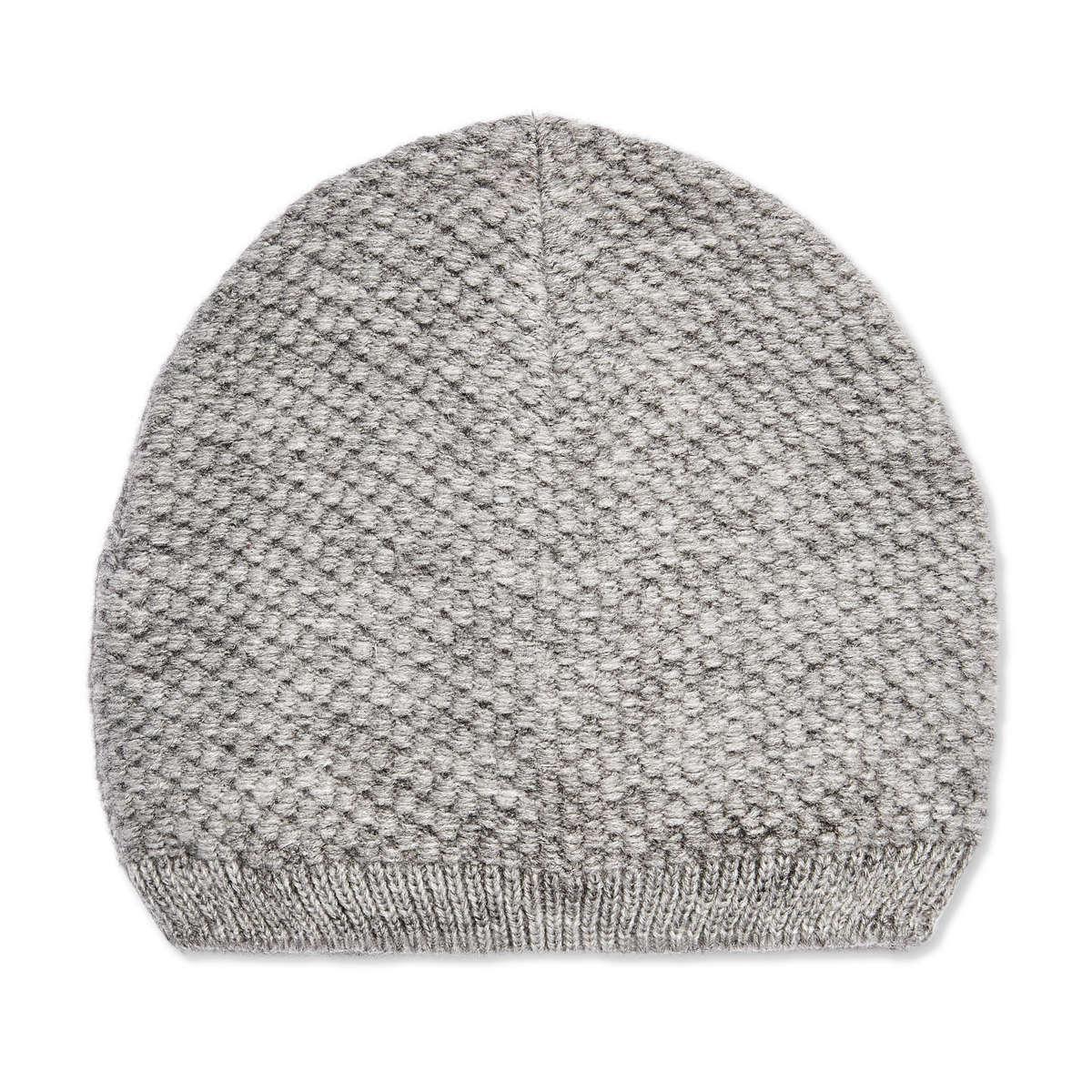 Joe Fresh Popcorn Knit Beanie in Gray - Lyst c3cea2545bd1
