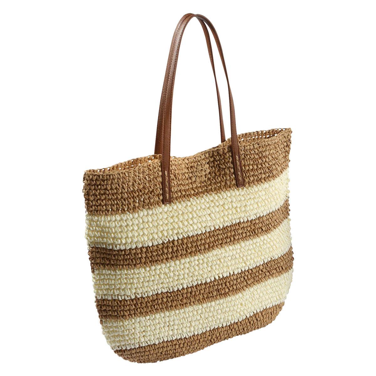 joe fresh straw tote bag in lyst