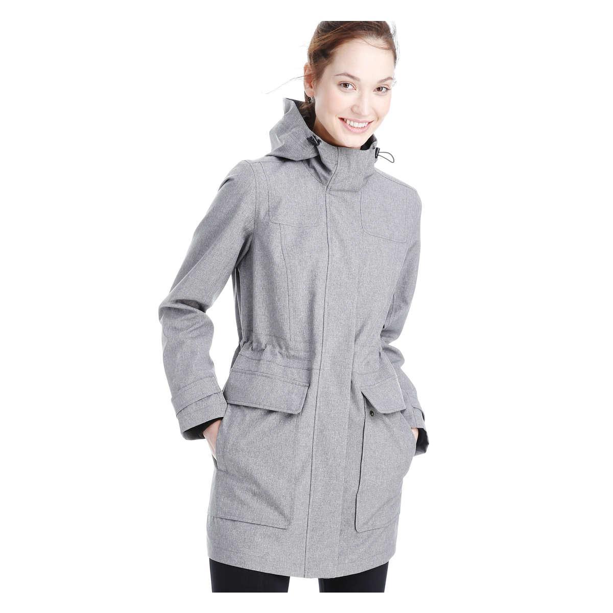 Joe Fresh Essential Hooded Jacket In Gray Lyst