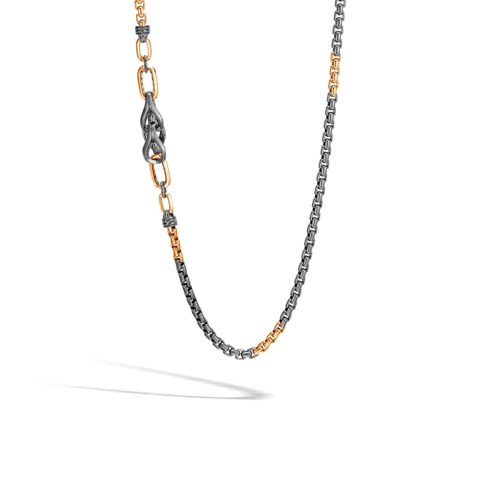 7a9085171e0ef6 John Hardy. Men's Metallic Asli Classic Chain Link Box Chain Necklace