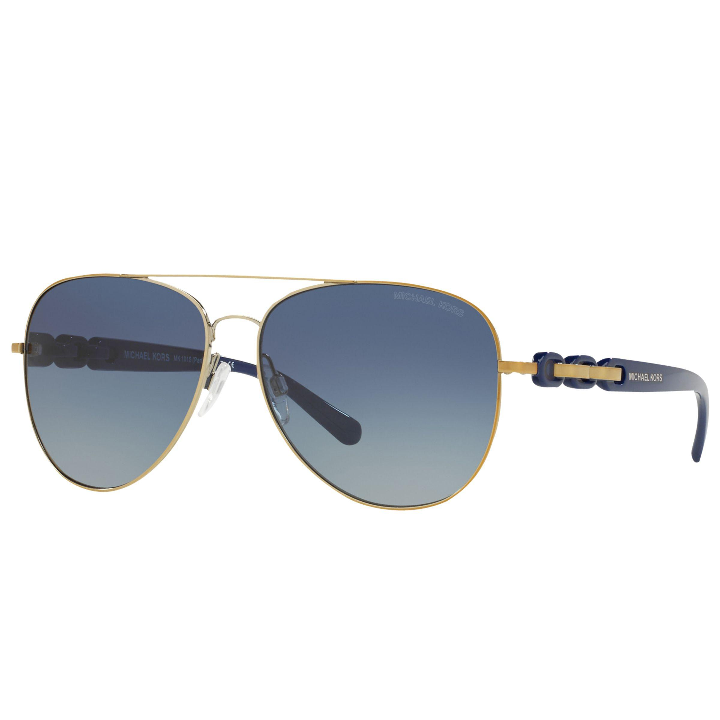 44c52eb831a Michael Kors Mk1015 Pandora I Aviator Sunglasses in Blue - Lyst