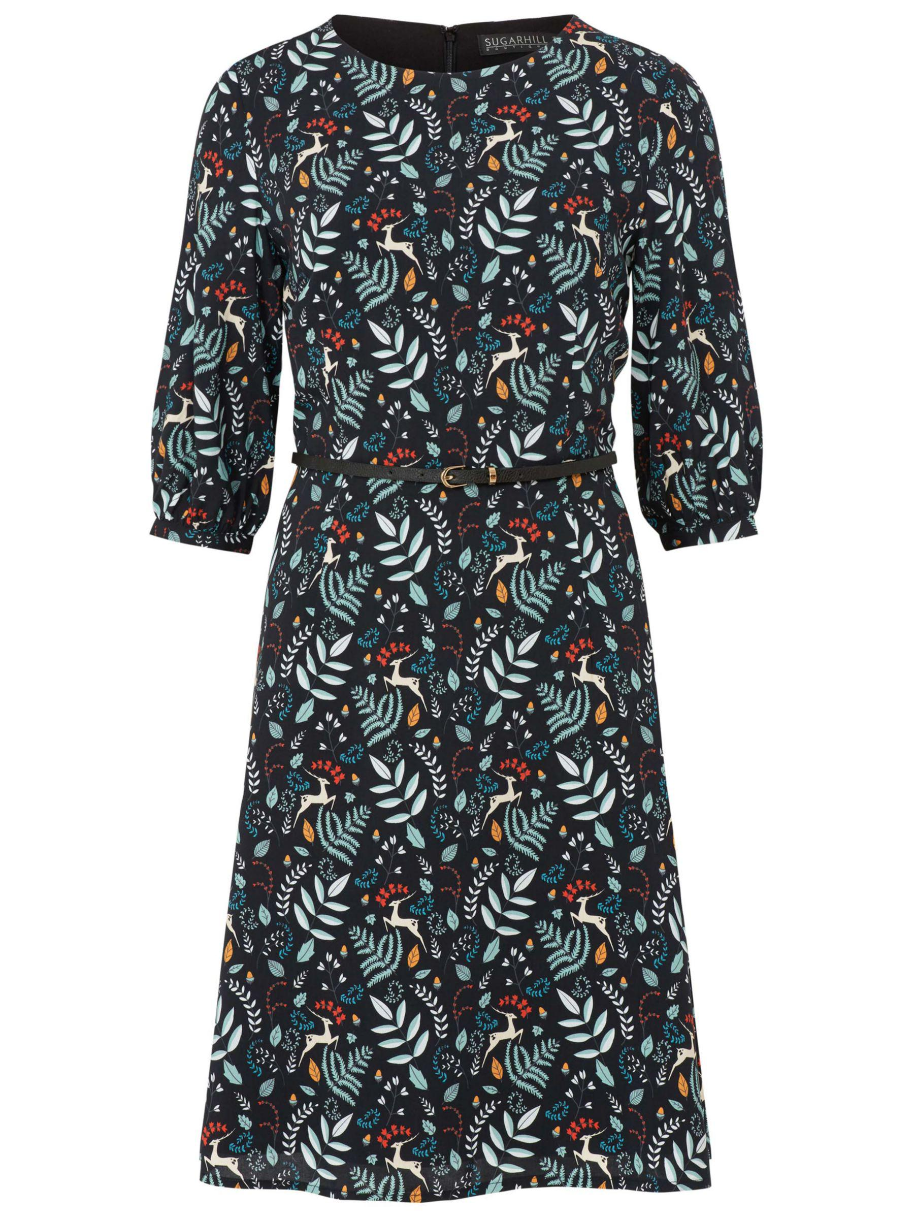 Sugarhill Brighton Cate Enchanted Woodland Dress, /Multi